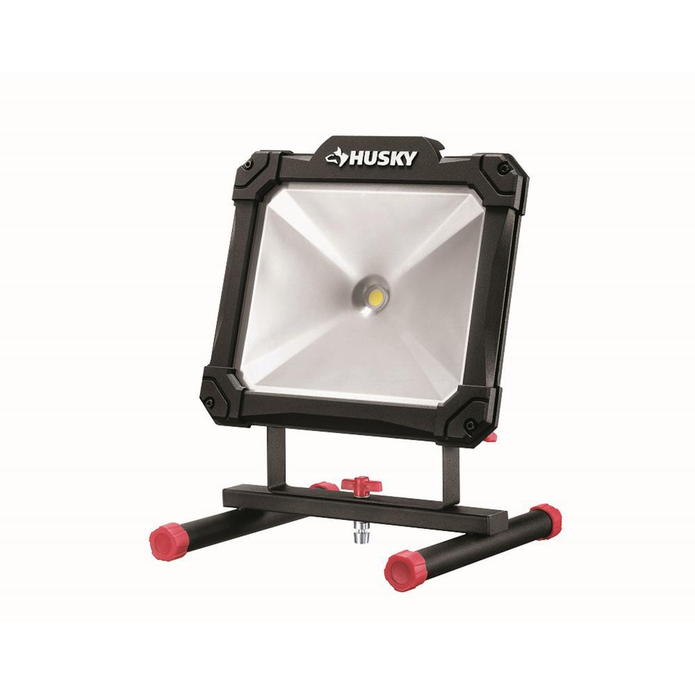 Husky 3500-Lumen Portable LED Work Light-HD3500P