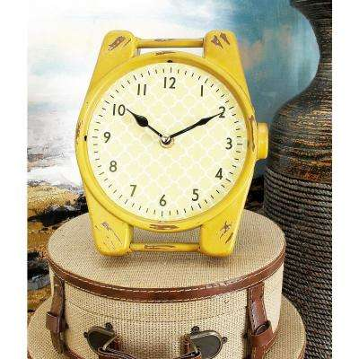 9 in. x 7 in. Multi Watch Face Table Clocks (Set of 4)