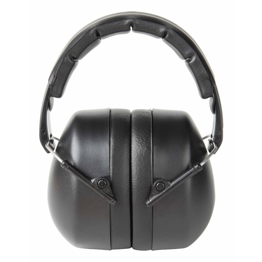 Black Folding Earmuff (Case of 5)