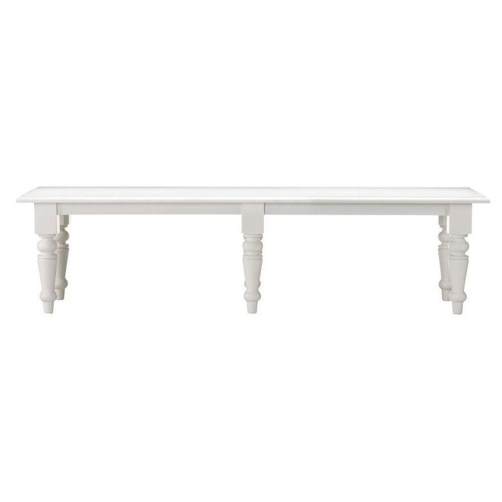 Martha Stewart Living Solutions White Bench 1035910410