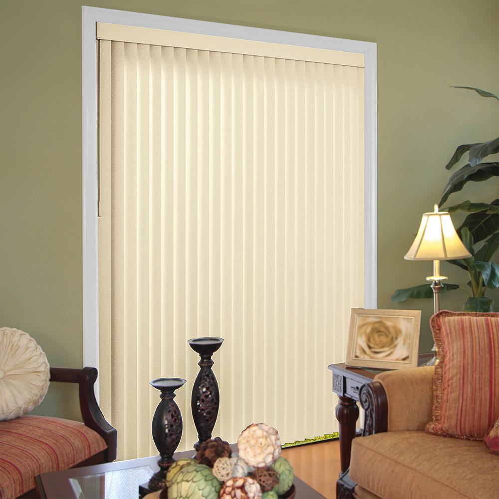 3.5 in. Textured PVC Vertical Blind