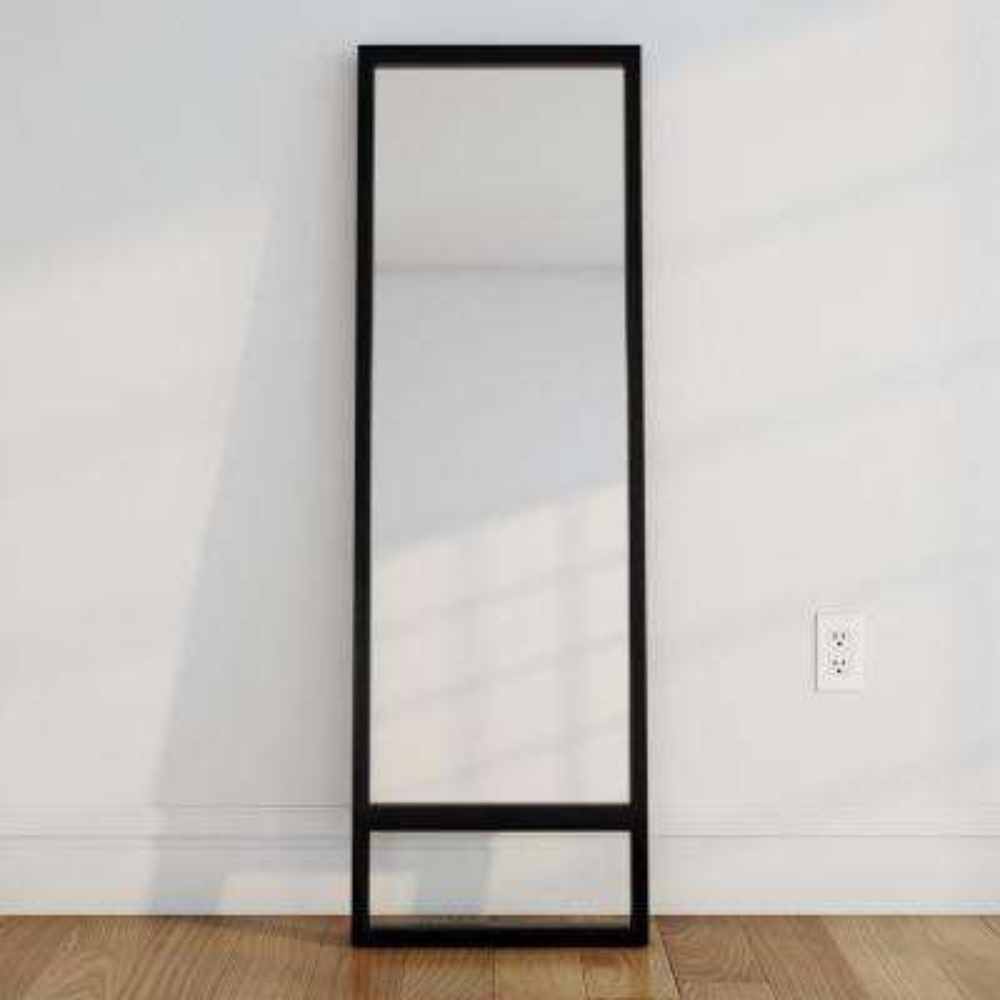 Manassa 62 in. H x 20 in. W Leaning Mirror