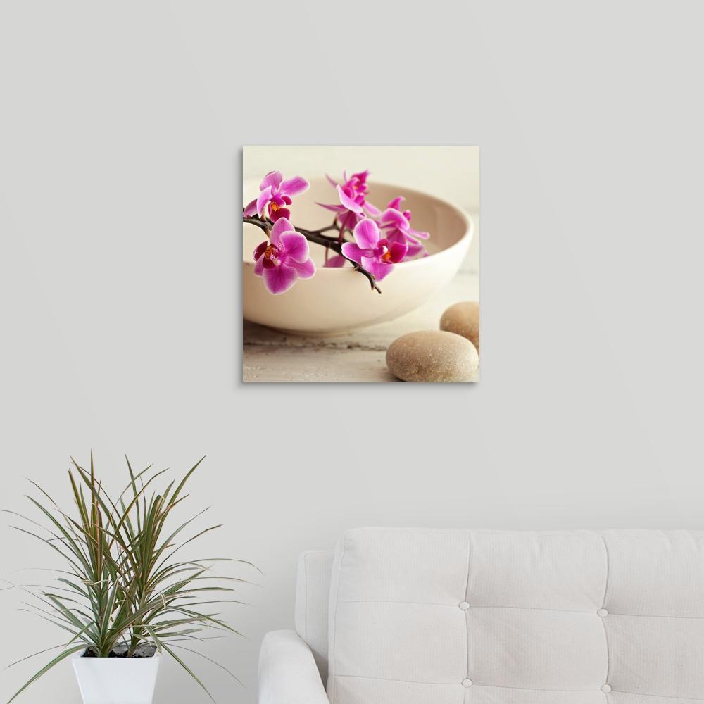 """Zen Pebble"" by PhotoINC Studio Canvas Wall Art"