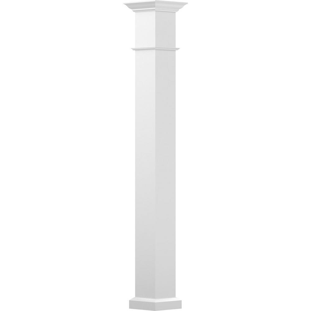 Decorative Columns Home Depot: Village Ironsmith Scroll Design 9 In. W X 8 Ft. H Black