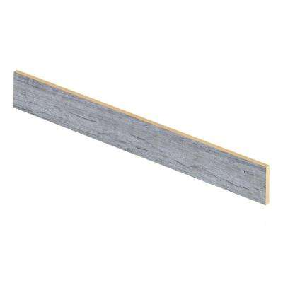 Oak Grey 47 in. Length x 1/2 in. Depth x 7-3/8 in. Height Laminate Riser to be Used with Cap A Tread