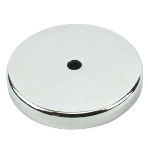 MASTER MAGNETICS 25 lb. Round Base Pull Magnets by MASTER MAGNETICS