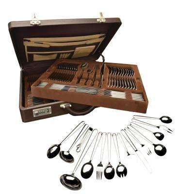 Cosmo 72-Piece Stainless Steel Flatware Set