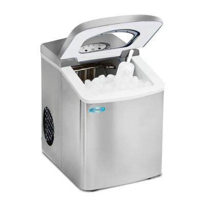 1.7 l Freestanding Portable Ice Maker in Stainless Steel Finish