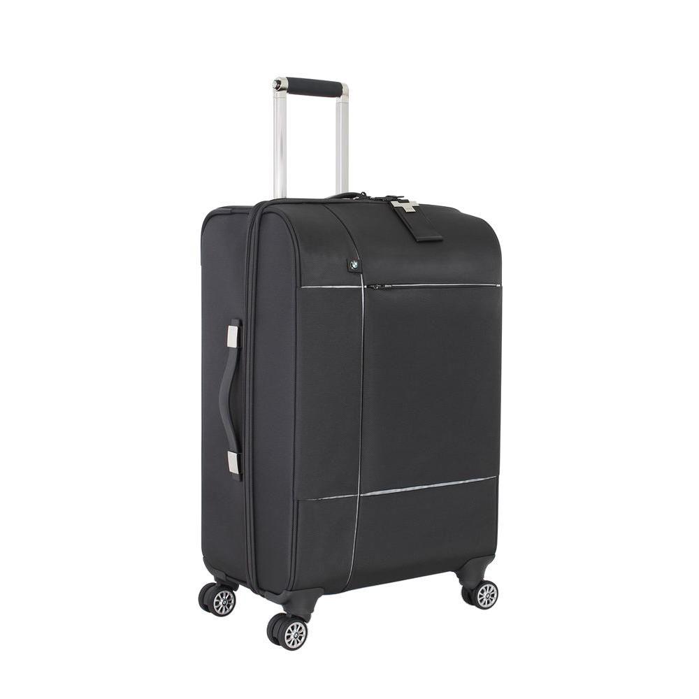24.5 in. Graphite Split Case Spinner Suitcase