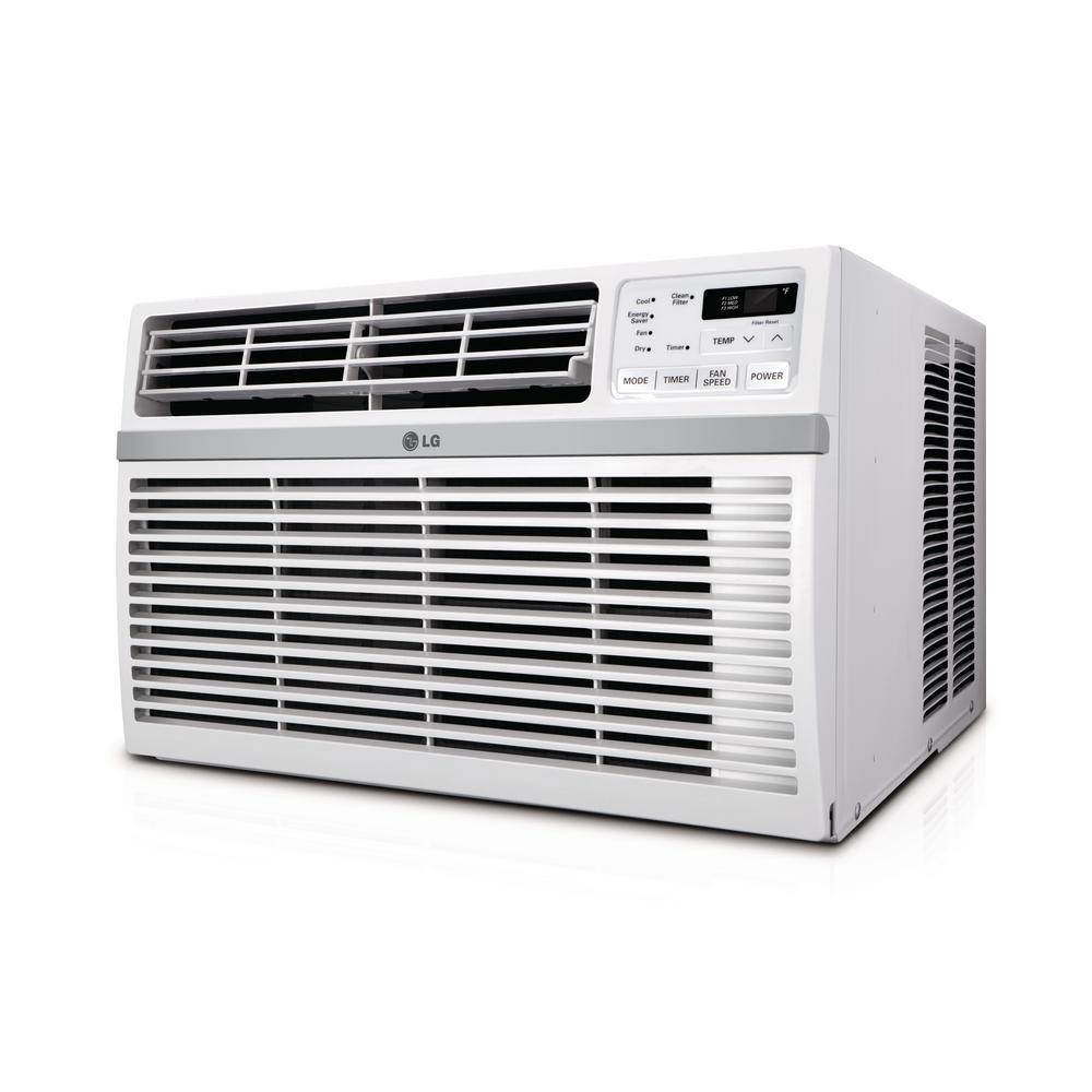 LG 24,500 BTU 230/208-Volt Window Air Conditioner with Re...