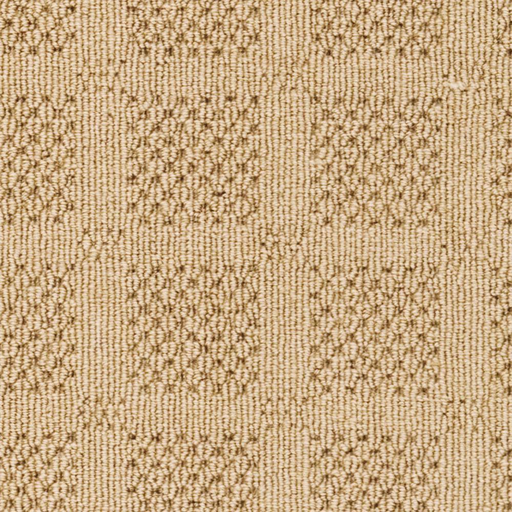 Carpet Sample - Savanna Square - Color Sand Loop 8 in. x 8 in.