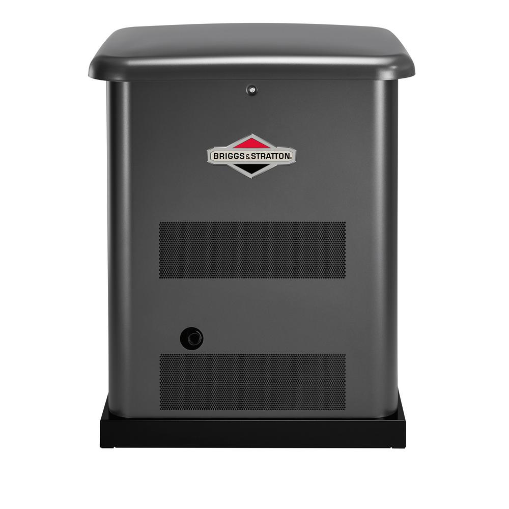 Briggs Stratton 10 000 Watt Automatic Air Cooled Standby Generator With 100 Amp 16