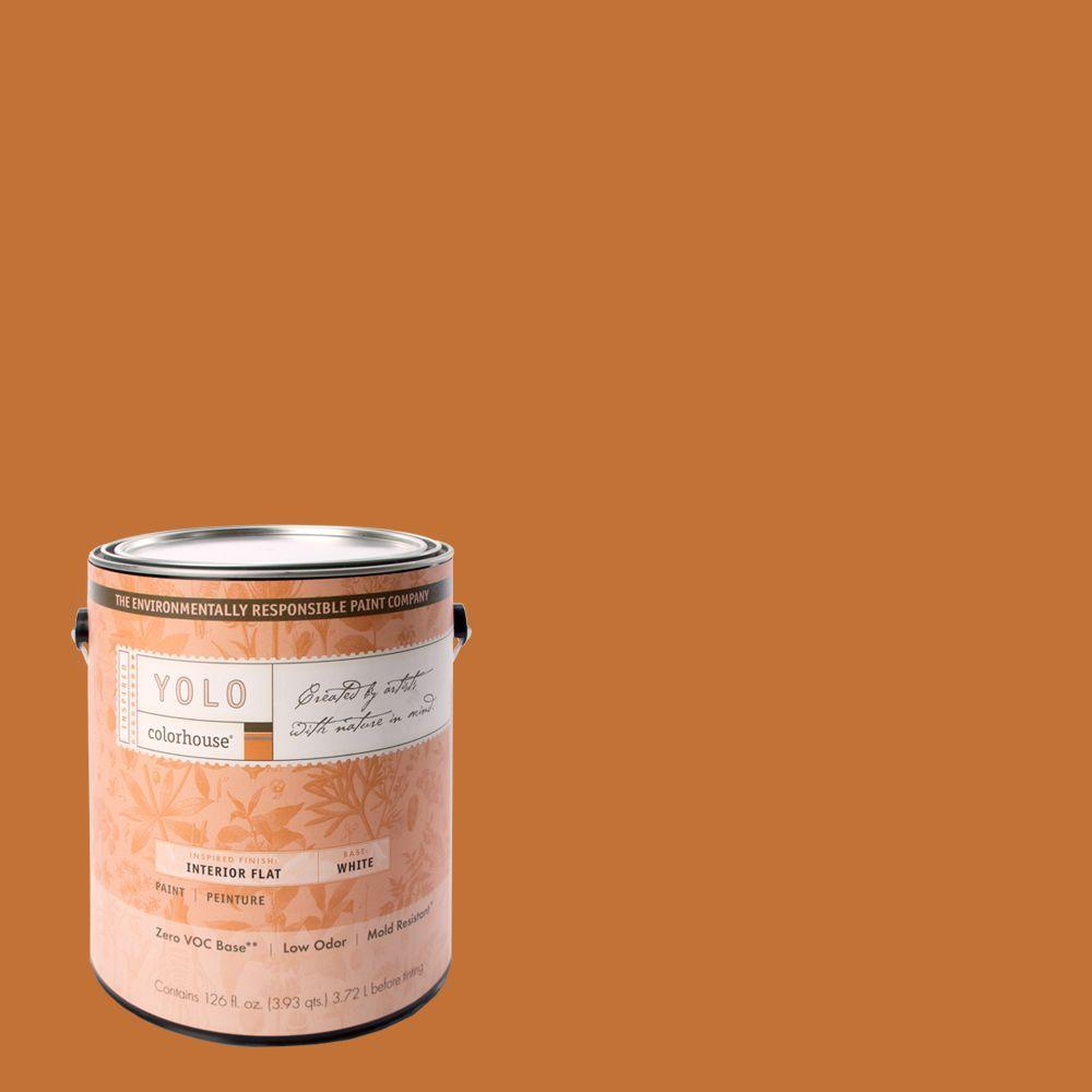 YOLO Colorhouse 1-gal. Create .03 Flat Interior Paint-DISCONTINUED