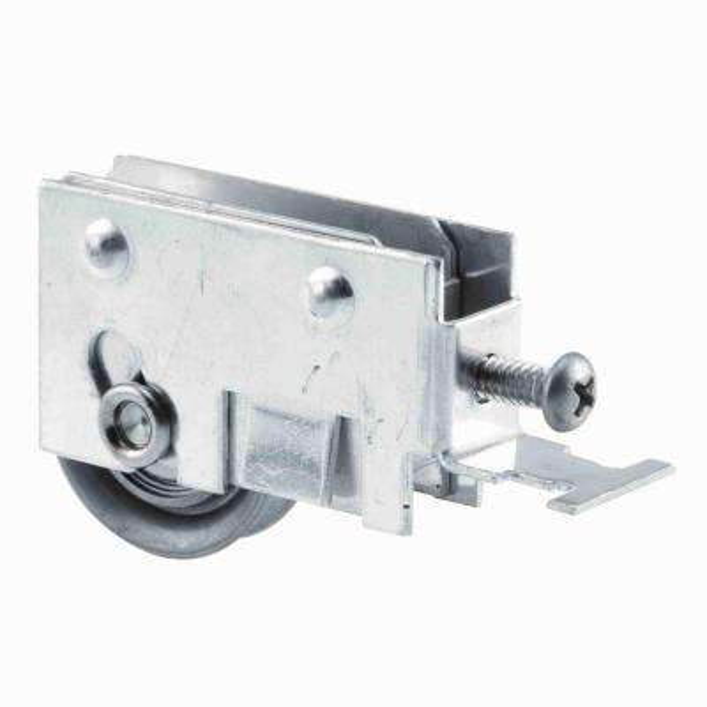Sliding Glass Door Roller Assembly, 1/1/4 Stainless Steel Ball Bearing Roller, 5/8 in. x 1-3/16 in. Housing