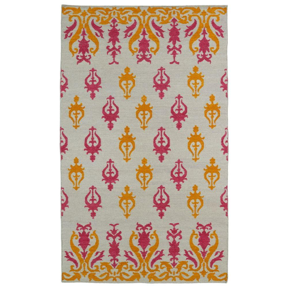 Kaleen Glam Light Brown 3 ft. 6 in. x 5 ft. 6 in. Area Rug