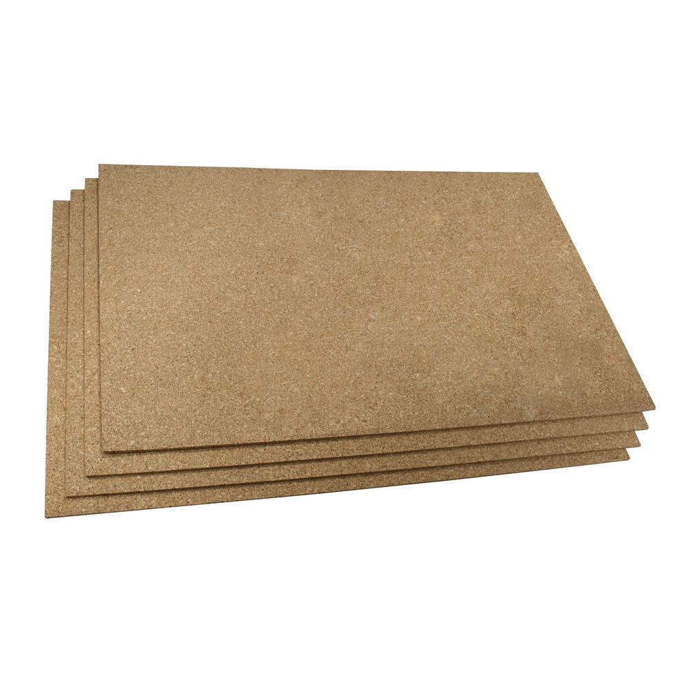 Cork 2 ft. x 3 ft. Insulating Underlayment (Pack of 4