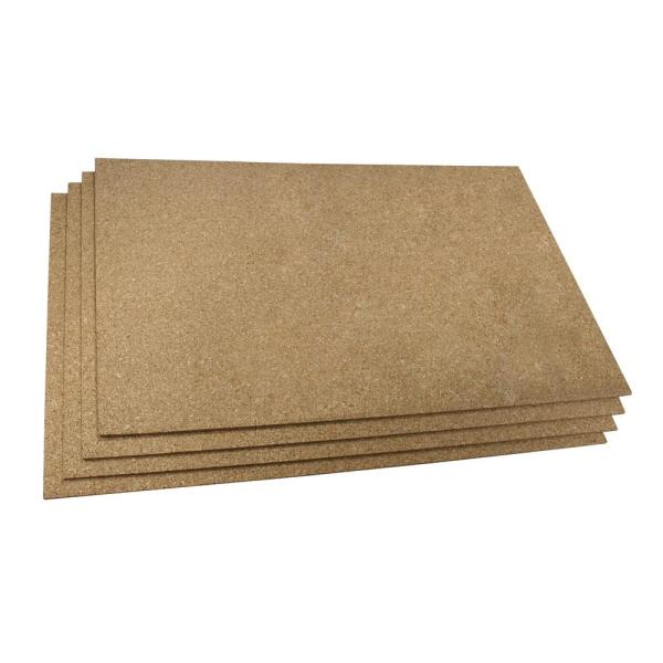 Cork 2 ft. x 3 ft. Insulating Underlayment (Pack of 4 Sheets)