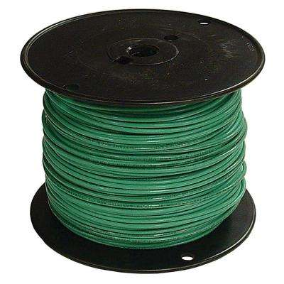 500 ft. 2 Green Stranded AL THHN Wire