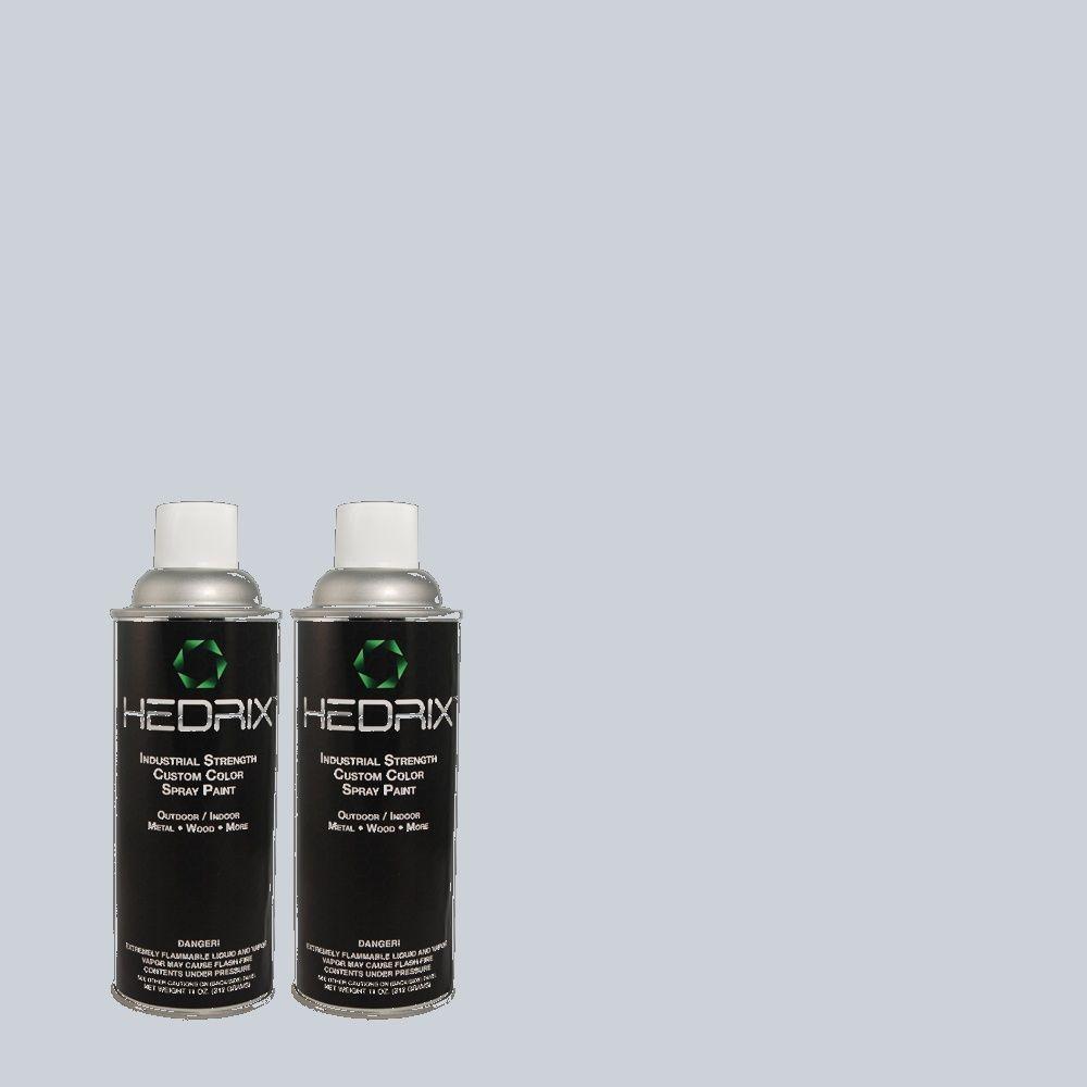 Hedrix 11 oz. Match of PPOC-26 Refreshing Flat Custom Spray Paint (2-Pack)