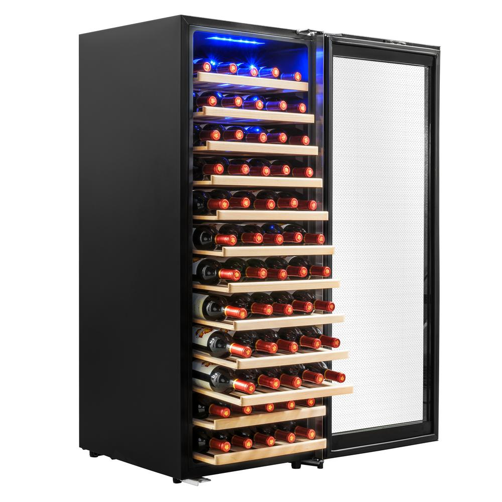 19.5 in. 80-Bottle Wine and 160-Can Compressor Beverage Cooler