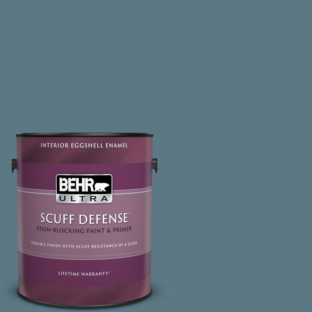 Reviews For Behr Ultra 1 Gal Ppu13 03 Catalina Coast Extra Durable Eggshell Enamel Interior Paint Primer 275301 The Home Depot