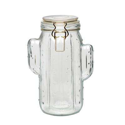 Saguaro 52 oz. Glass Hermetic Preserving Canister with Figural Shape