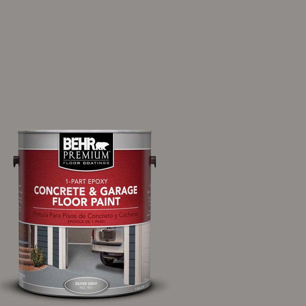 BEHR Premium 1 gal. #PFC-69 Fresh Cement 1-Part Epoxy Concrete and Garage Floor Paint