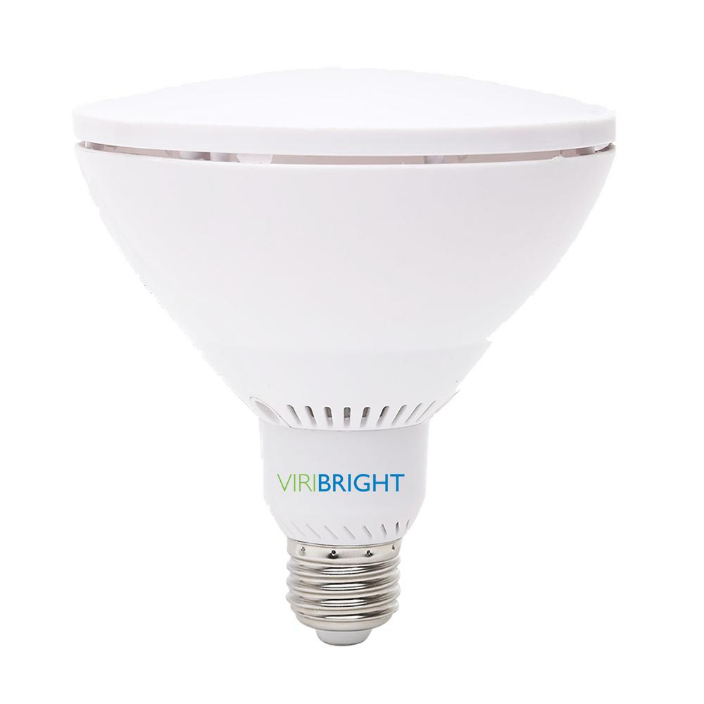 Viribright 75W Equivalent Soft White (2700K) PAR38
