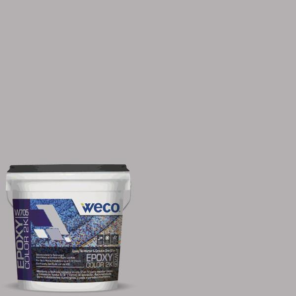 Weco 5 Kg W 705 Epoxy Grout Cement Gray We0770506 The Home Depot
