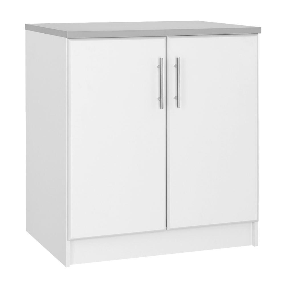 Hampton Bay 24 In D X 32 In W X 36 In H 2 Door Base Cabinet In