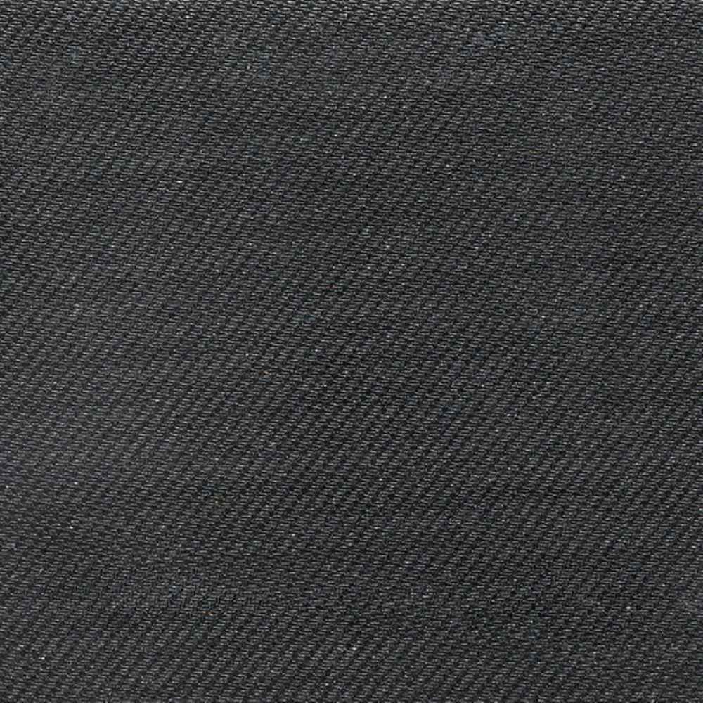 Daltile Identity Twilight Black Fabric 12 in. x 12 in. Polished Porcelain Floor and Wall Tile (11.62 sq. ft. /case)-DISCONTINUED