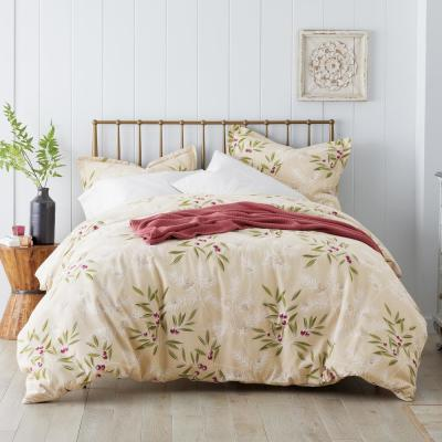 Spruce Berry Flannel Pillowcase (Set of 2)