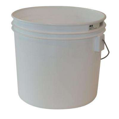 3.5 gal. White Bucket (10-Pack)