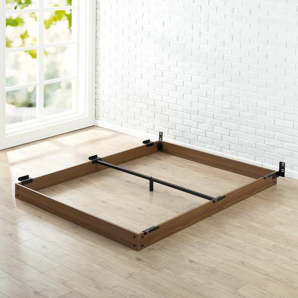Zinus 5 in. Twin Wooden Bed Frame-HD-WDBF-5T - The Home Depot