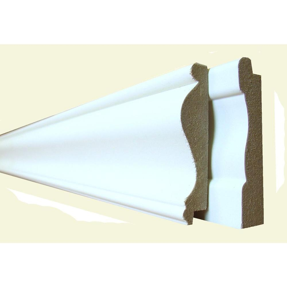 8 ft. MDF Cape Cod Trim Pack 4-Piece