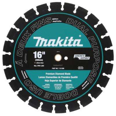 16 in. Dual Purpose Diamond Blade