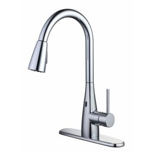 Glacier Bay Touchless Pull-Down Sprayer Kitchen Faucet with TurboSpray