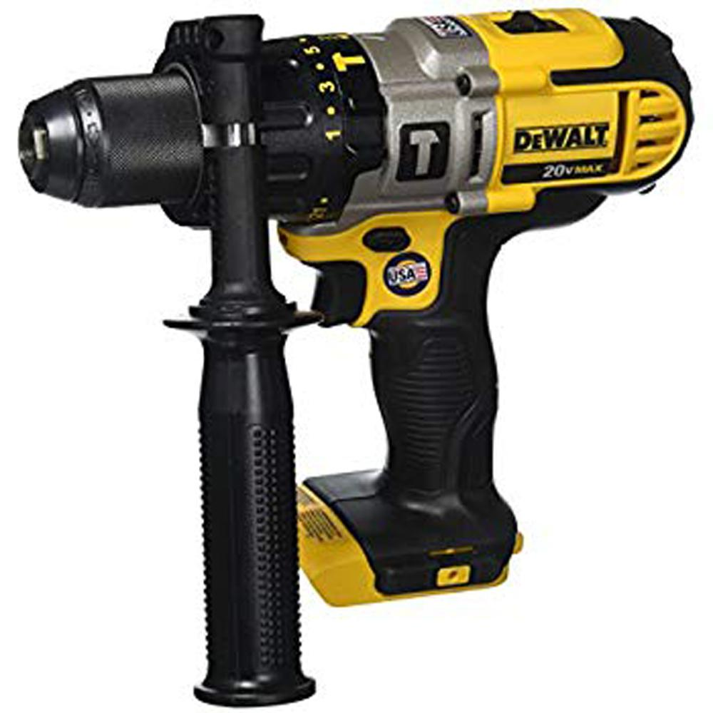 DEWALT 20-Volt MAX Lithium-Ion Cordless 1/2 in  Hammer Drill/Drill Driver  (Tool-Only)