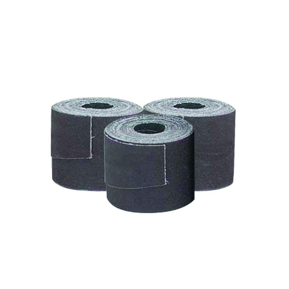 Delta 5 1/8 in. x 92 1/2 in. 180-Grit Aluminum Oxide Sanding Strips for Dual Drum Sander (3-Piece)