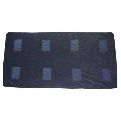 Black Heated Emergency Blanket