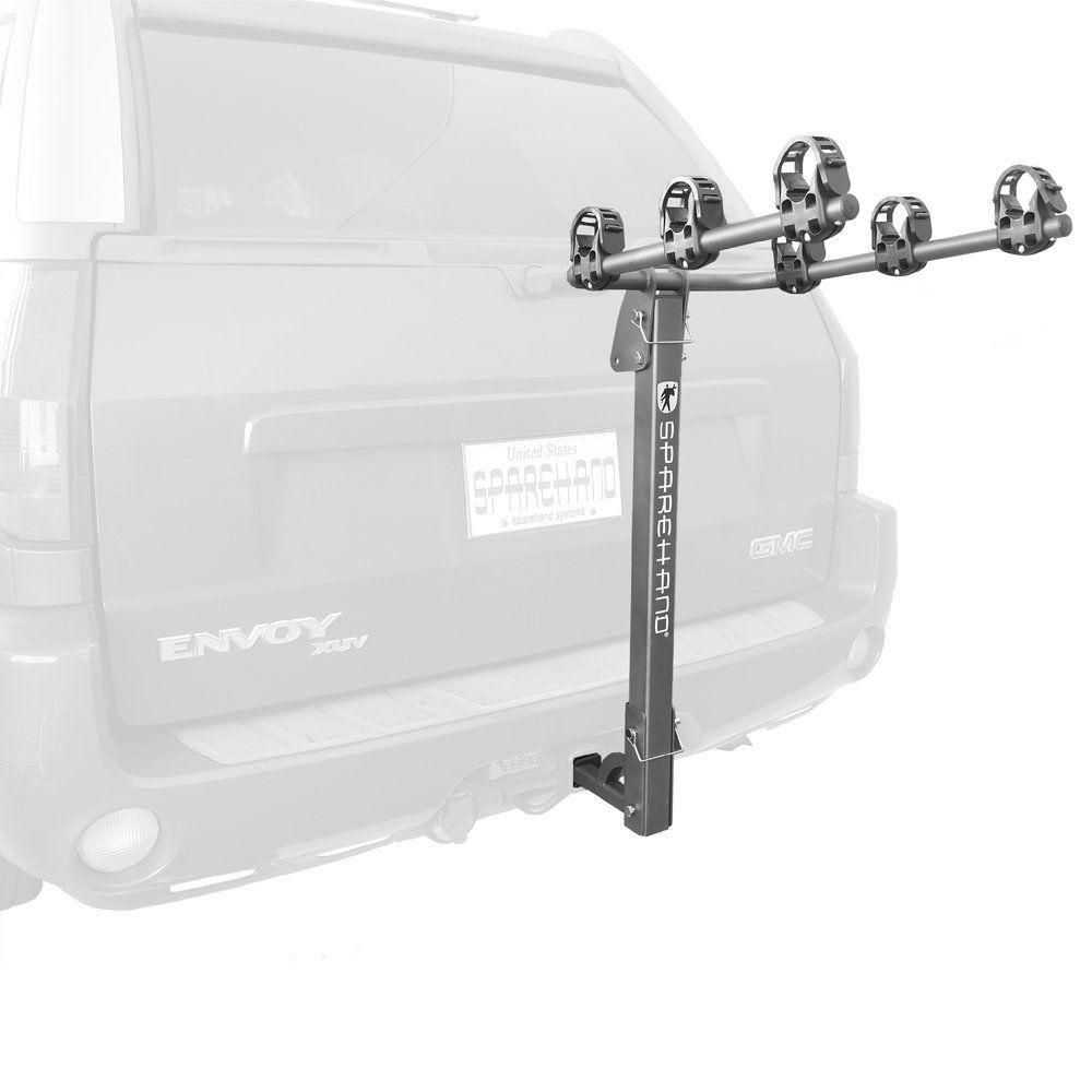 Stoneman Sports Sparehand Hitch Mounted 3-Bike Vehicle Rack for All ...