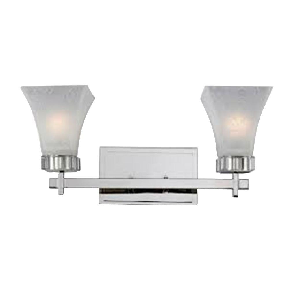 Tulen Lawrence 3-Light Polished Nickel Incandescent Bath Vanity Light