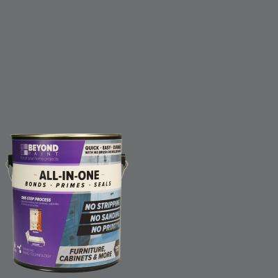 1 gal. Pewter Furniture, Cabinets and More Multi-Surface All-in-One Refinishing Pain