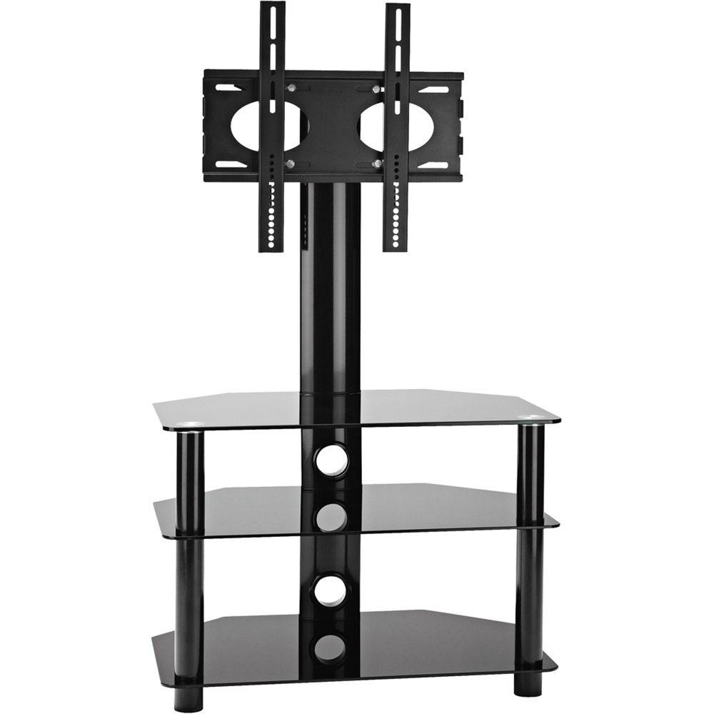 OmniMount Modena Series 3-Shelf AV stand with Flat Panel Mount-DISCONTINUED