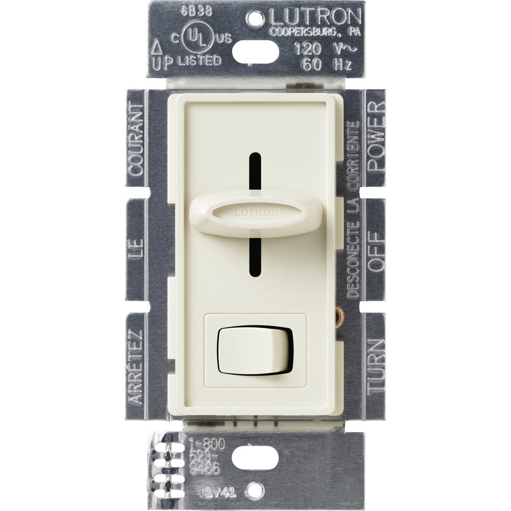 Skylark 1000-Watt Single-Pole Preset Dimmer, Almond