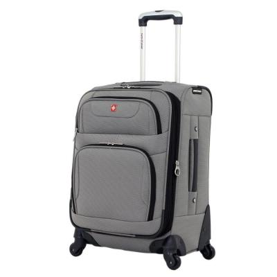 20 in. Spinner Suitcase in Pewter