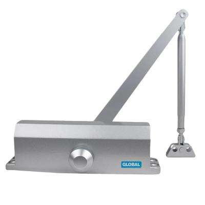 Aluminum Size 4 Commercial Door Closer with standard Arm Bracket