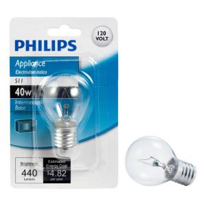 Philips 40 Watt S11 Incandescent Light Bulb 415414 The
