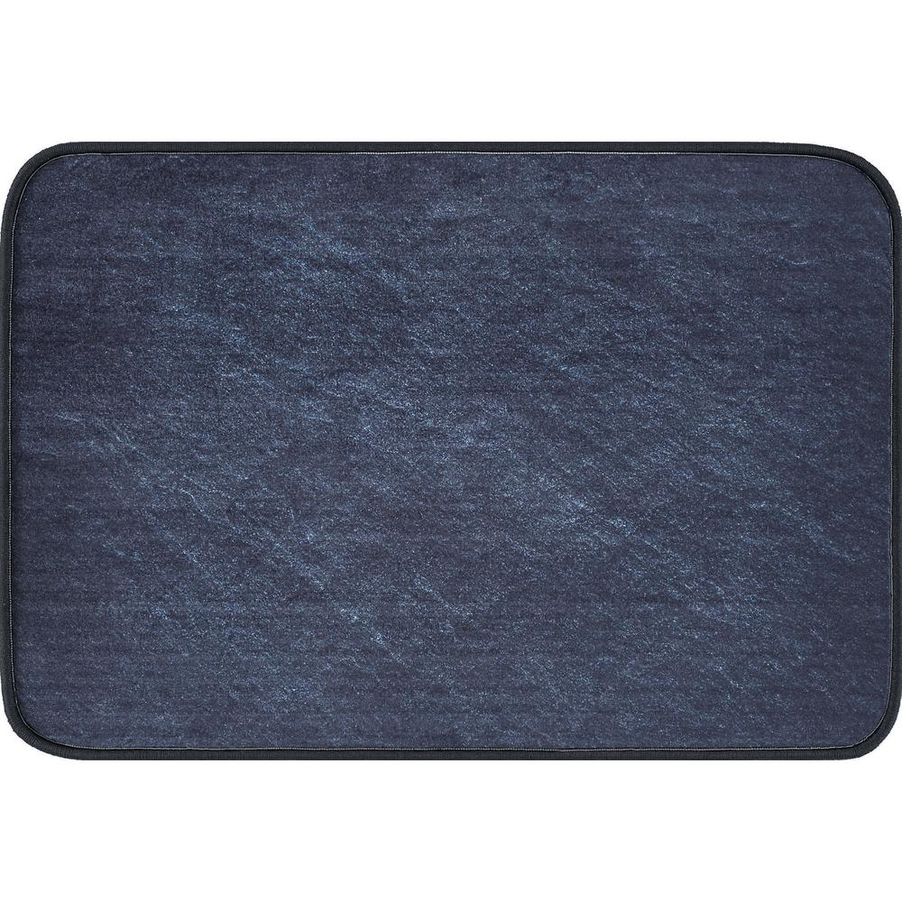 Luxor Home Charcoal 20 in. x 30 in. Anti-Fatigue Non-Slip Comfort