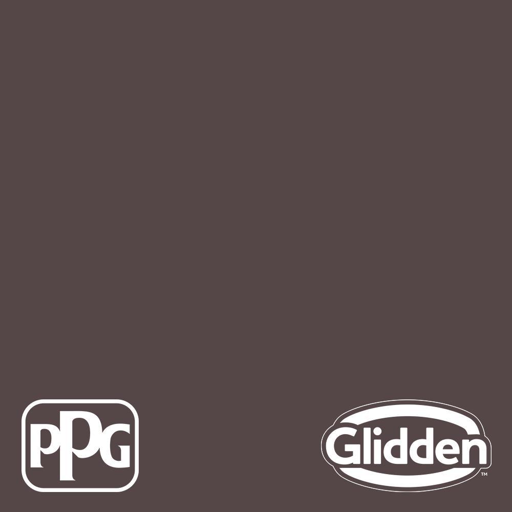 Glidden Premium 5-gal  Black Walnut PPG1014-7 Flat Interior Latex Paint
